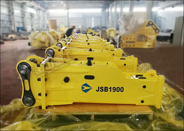 Hydraulic Concrete SB81 Mini Excavator Rock Breaker For Komatsu PC220 Carrier