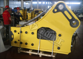 China Side Type Hydraulic Rock Breaker , Hydraulic Breaker Hammer For 50 Ton Excavator Caterpillar 350 supplier