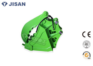 China Hydraulic Thumb Excavator Grab Bucket ,  Backhoe Clamp Bucket Suit Komatsu PC45 PC50 PC60 supplier