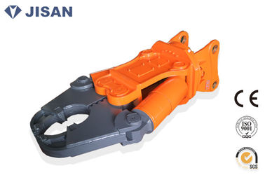 China Double Cylinder Excavator Metal Shears 360 Degree Hydraulic Rotation Motor supplier
