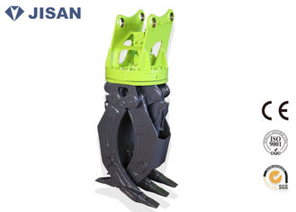China Volvo EC120 EC140 Excavator Grab Hydraulic Attachments 360° Rotation supplier