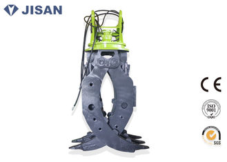 China CE Certified Excavator Rotating Grapple 160-180 Kg/cm2 Oil Pressure For Komatsu supplier