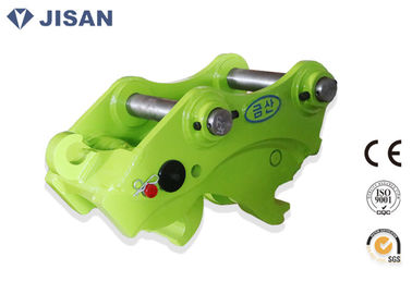 China Push Type Excavator Quick Coupler 380-420mm Pin Distance For Komatsu PC120 supplier