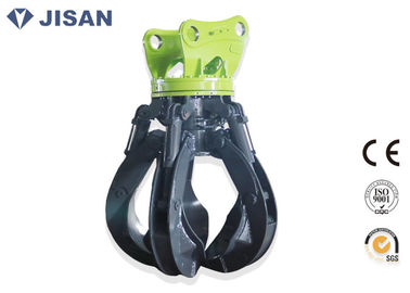 China Durable Hydraulic Orange Peel Grab Robust Structure Fit SANY Excavator SY200 SY220 supplier