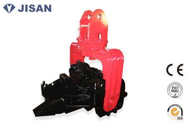 China Heavy Duty Hydraulic Vibratory Hammer Customized Clip Mouth For 12 Meter Sheet Pile supplier