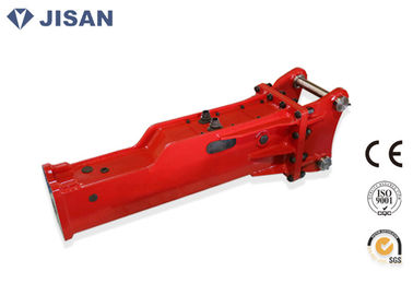 China Box Silent Type Soosan Hydraulic Breaker For 4-7 Ton Mini Excavator supplier