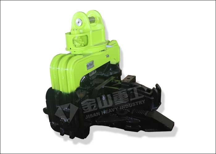 Quick Speed Vibratory Pile Hammer Silence operation For Excavator