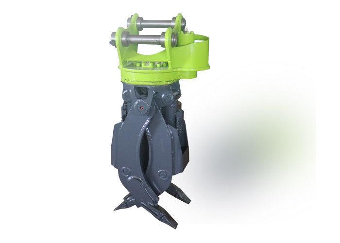 1000mm Jaw Opening Mini Digger Log Grab 360 Degree Hydraulic Rotating