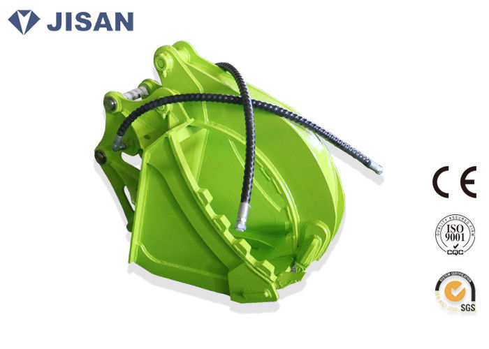 Big Cylinder Backhoe Bucket Thumb Non Rotating JSS06 For
