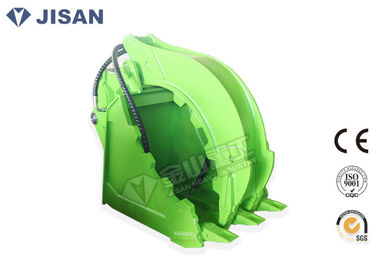 China Heavy Duty Hydraulic Grab Bucket Handling Waste Debris For Excavator ZX200 ZX210 factory