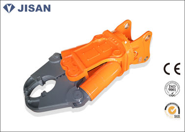 Demolition Hydraulic Scrap Shear Steel Metal Cutter For Small Hitachi Excavator