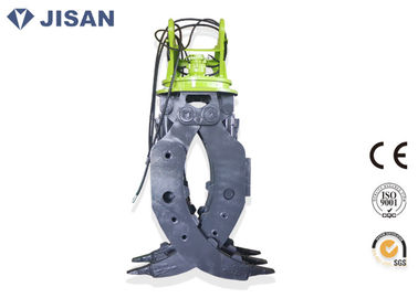 China CE Certified Excavator Rotating Grapple 160-180 Kg/cm2 Oil Pressure For Komatsu factory