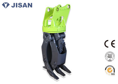 China Flat Type Hydraulic Log Grapple Fit Komatsu Excavator PC120 PC130 PC160 factory