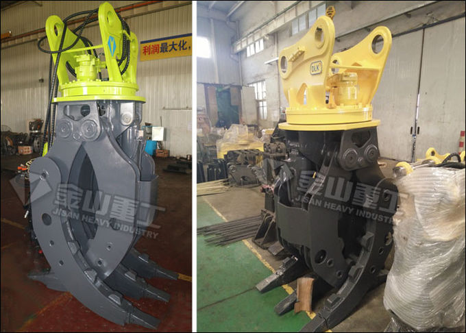 LIEBHERR 922 Excavator Rock Grab Rotating Type 2300mm Jaw Opening CE Approved