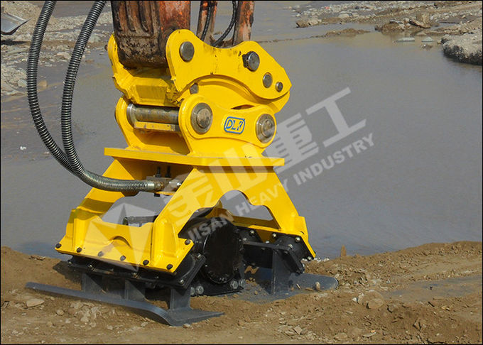 Komatsu Excavator Compactor Attachment Hydraulic Motor 900Kg For Trench Compaction