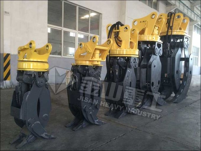 Volvo EC120 EC140 Excavator Grab Hydraulic Attachments 360° Rotation