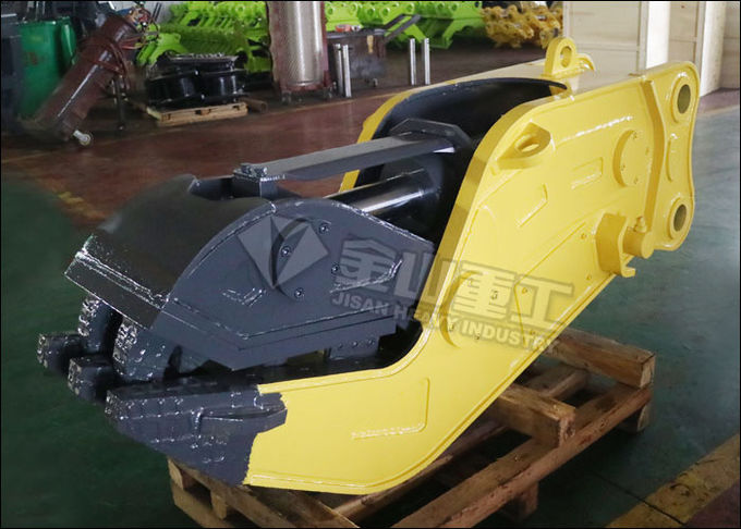 Komatsu PC200 Excavator Pulverizer Attachment Strong power Low Noise CE Approval