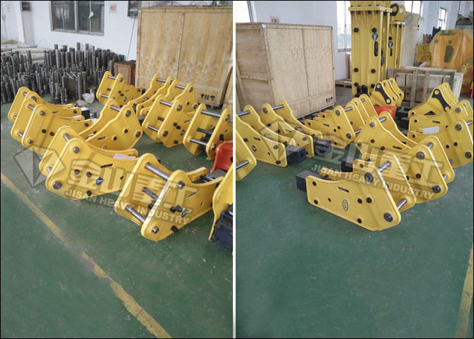Backhoe Loader Excavator Hydraulic Breakers For Excavators JCB 3CX 3DX Mounted High Stability