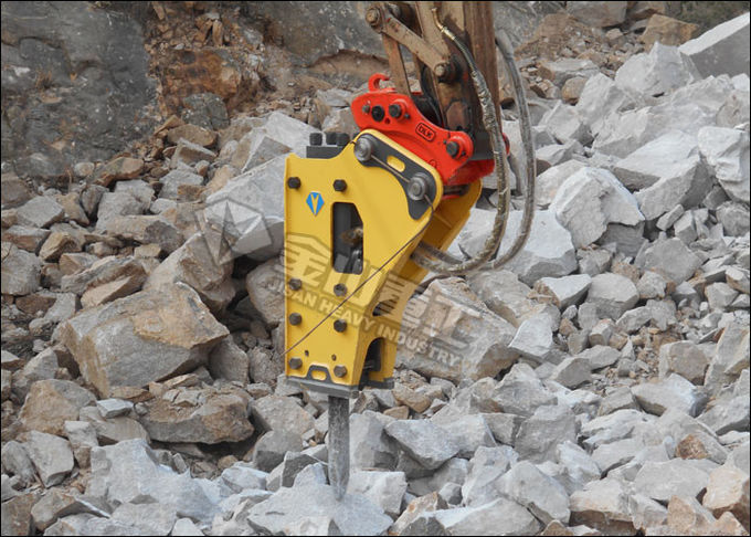 Side Type Excavator Rock Breaker , Hydraulic Breakers For Excavators EX200 EX210 EX220 EX230