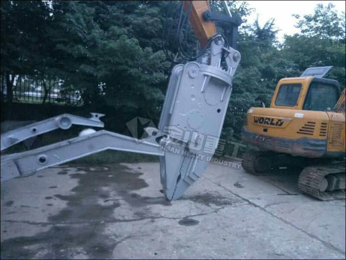 Hydraulic Car Dismantling Equipment 20 Ton Excavator Vehicle Dismantle Machine