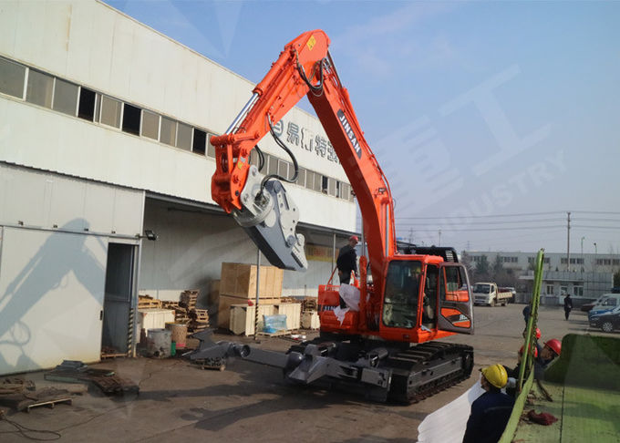 Cat320 Rotary Excavator Car Dismantling Equipment Large Cylinder With Hold Down Arms